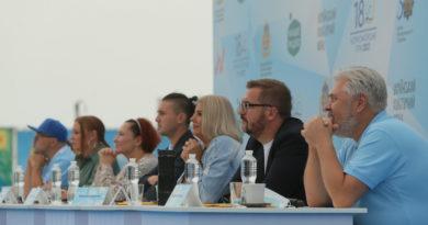 У Скадовську стартував XVIII Всеукраїнський благодійний дитячий фестиваль «Чорноморські Ігри»