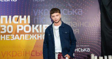 Переможець «Голосу країни» Сергій Лазановський став хедлайнером Ukrainian Song Project-2021