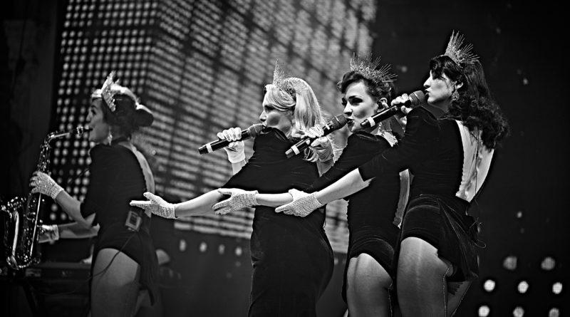 "Freedom Jazz girls band презентують нове шоу ""КАБАРЕ"""