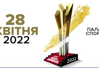 """У зв'язку з різким погіршенням епідеміологічної ситуації церемонію """"M1 Music Awards"""" перенесено на 28 квітня 2022 року"""